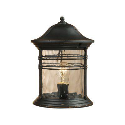 ELK Lighting Madison 8169-MBG 1-Light Outdoor Post Light - 08169-MBG, Durable