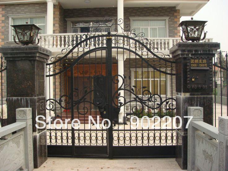Двери железные ворота orange county, железные ворота, железные ворота железные двери