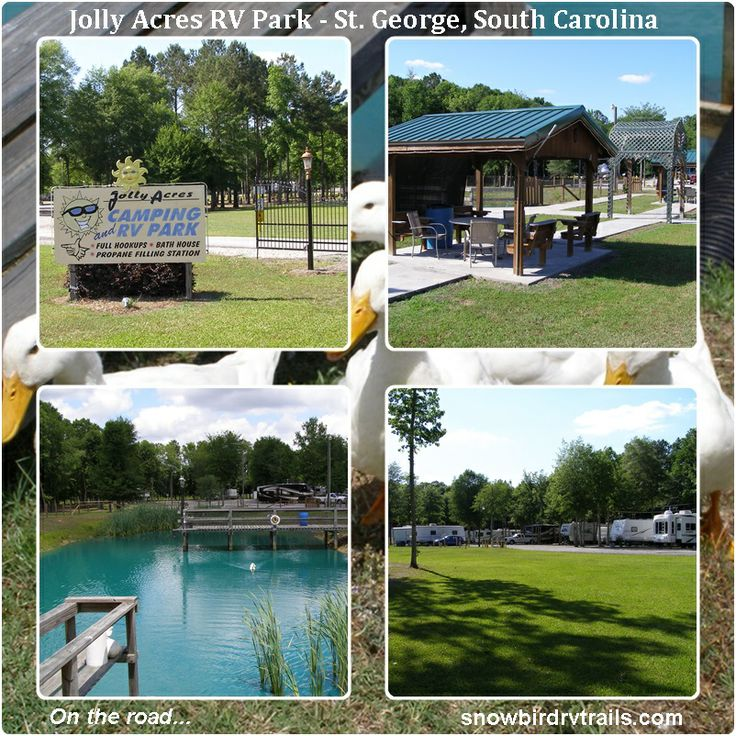Jolly Acres Rv Park In St George South Carolina On The