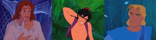 Adam, Aladdin, and John