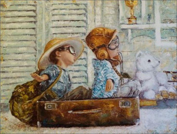 Осенний вернисаж в творческом Чемоданном городке (Выпуск №3) - Ярмарка Мастеров - ручная работа, handmade