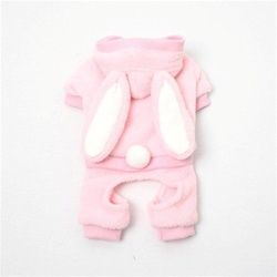 Plush Bunny Jumper Pink
