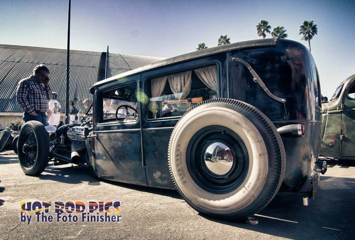 Cool Old Hearse Hot Rod