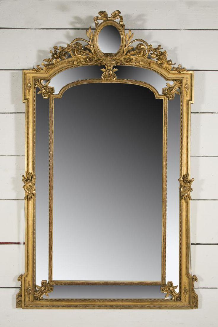 «BersoАнтик» - старинное зеркало Людовик XVI