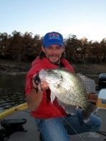 Learn how crappie expert Todd Huckabee catches slab crappie trolling crankbaits in today's feature article. Photo copyright Brad Wiegmann Outdoors. http://www.bradwiegmann.com/lures/crappie-lures/578-trolling-crankbaits-for-slab-crappie.html