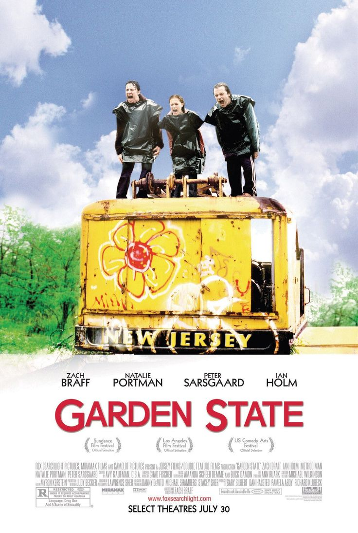 Garden State. awesome movie.States 2004, Awesome Movie, Movie Posters, Gardens States, Books Music Movies Show, Book Music Movie Show, Favorite Movie, 35 Movie, Favorite Film