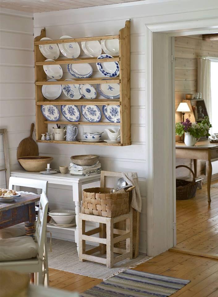 M s de 25 ideas incre bles sobre estantes de platos en for Ideas decorativas home