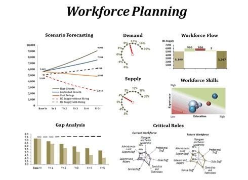 Workforce Planning Dashboard Education & Training