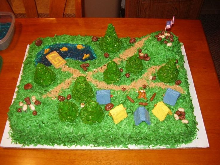 17 Best images about Boy Scout cakes on Pinterest Girl ...