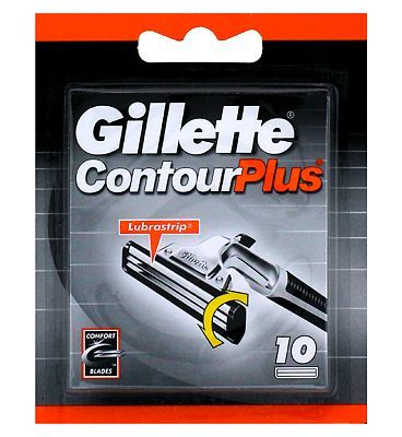 Gillette Contour Plus Replacement Razor Blades 36 Advantage card points. Gillette Contour Plus Replacement Razor Blades 10 Pack for Gillette Contour Plus Razor. FREE Delivery on orders over 45 GBP. http://www.MightGet.com/february-2017-1/gillette-contour-plus-replacement-razor-blades.asp