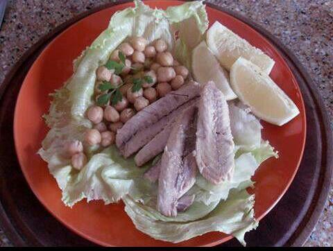 Sgombro su letto di ceci www.nutriercol.it
