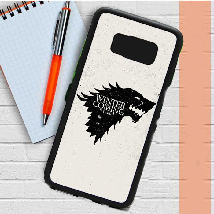 Game Of Thrones Stark - Winter Is Coming Samsung Galaxy S8 Case Dewantary