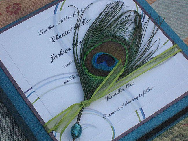 I love these.Peacocks Wedding, Wedding Invitations, Theme Wedding, Handmade Gift, Handmade Soaps, Handmade Crafts, Peacocks Feathers, Peacocks Theme, Handmade Jewelry