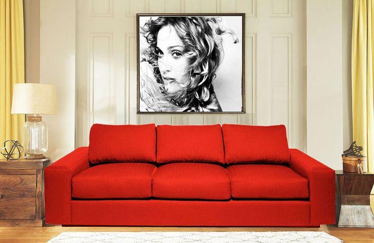 Beautiful Design and Red Color Luxury Sofa…    Price>> 20,250/- #DesignerSofa #StylishSofa #Furniture #HomeDecor #BeautifulSofa #RedSofa #LuxurySofa #ThreeSeaterSofa #RoomSofa #HallSofa #OfficeSofa #FurnitureSofa #Rainforestitaly