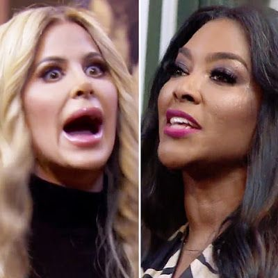 Kim Zolciak-Biermann Opens Up About Her RHOA Season 9 Cameo Appearance And Her Blowup With Kenya Moore!