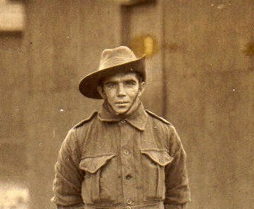 My Grandfather William Oscar Crockett World War 1 Western Front Veteran. Battle of the Somme 1917. Wounded and returned to Australian shores 1917. He will last in my memory forever.