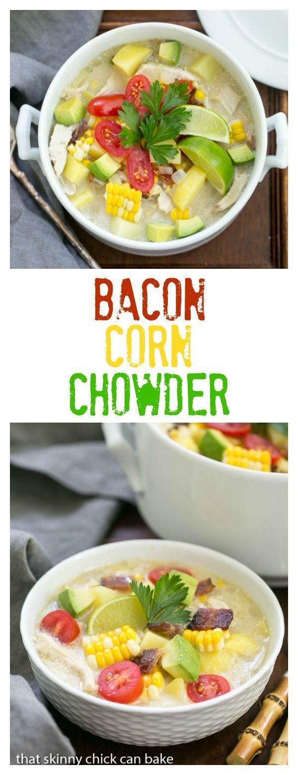 Chicken Chowder With Potato, Bacon, And Corn Recipe — Dishmaps