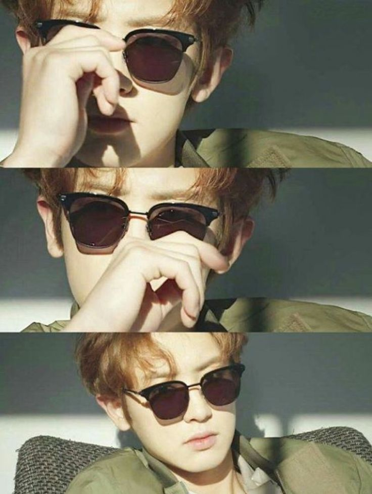 Chanyeol with the sunglasses