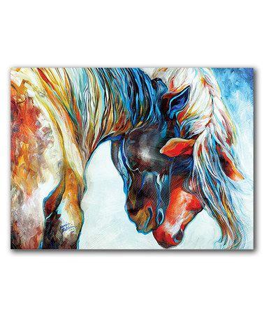 Look at this #zulilyfind! Forever Friends Wrapped Canvas #zulilyfinds