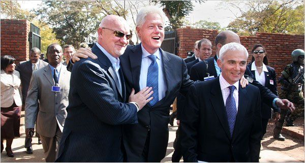 Foundation receives $31.3 million donation after Clinton's public declaration undercuts American foreign policy.....