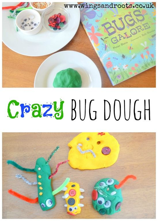 Crazy bug playdough.