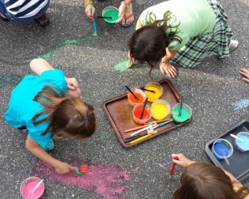 137 best rainbow art birthday party images on pinterest rainbow