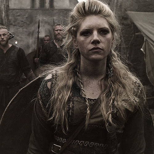 Vikings on History - Lagertha Lothbrok Viking Shield Maiden.