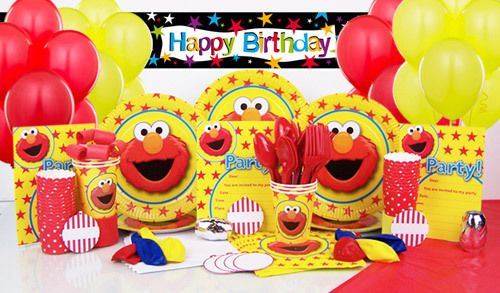 Elmo Ultimate Party in the Box  $54.95 caters for 6 guests