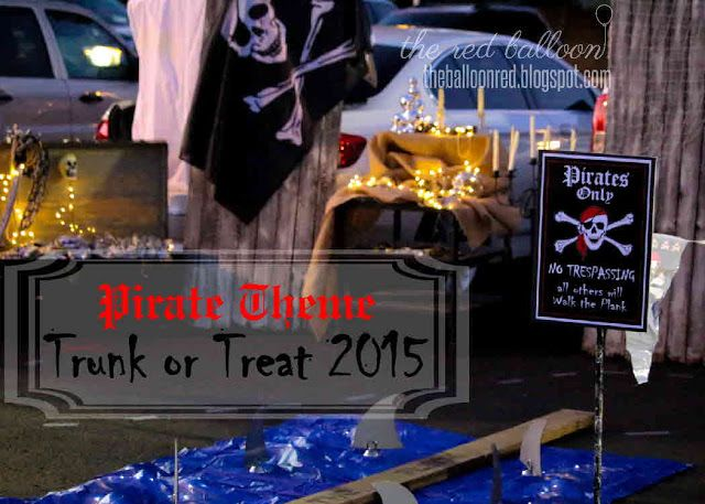 Trunk or Treat- Pirate Theme