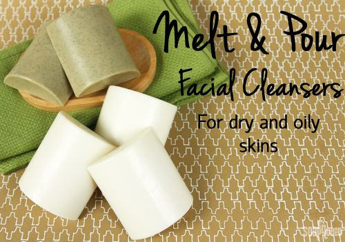 DIY Fresh Face Cleansing Bars for Dry & Oily Skin | Soap Queen (tea tree & rosemary bar and lavender & chamomile bar)