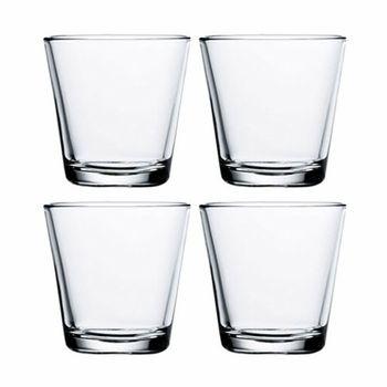 Iittala Kartio Clear Medium Tumbler - Finn Style $28.75/set of 4