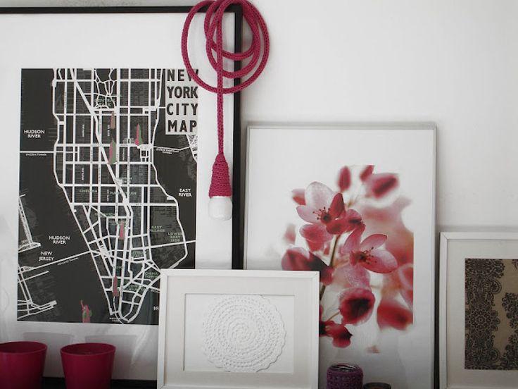 11 best lámparas tejidas images on Pinterest Lampshades, Lamp