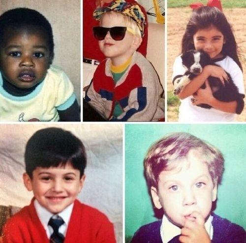 Top to bottom, left to right: Kevin, Scott, Kirstin, Mitch, Avi