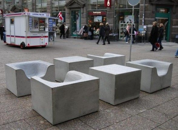 17 Best Images About Concrete Furniture On Pinterest