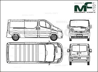 The 236 best nissan blueprints images on pinterest nissan primastar l2h1 closed box car rear double doors one sliding door 2002 malvernweather Image collections