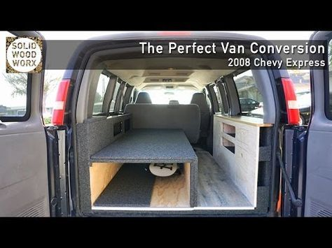 3 The Perfect Van Conversion With Collapsable Bed And Kitchen Area
