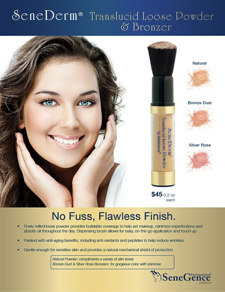 Lipsense Makeup: Translucid Powder From #SeneGence Now Available In Three