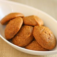 I make these pumpkin cookies on a pretty regular basis...who cares if it's not fall? I just exchange the ginger for a little clove and allspice and add some cream cheese frosting :)