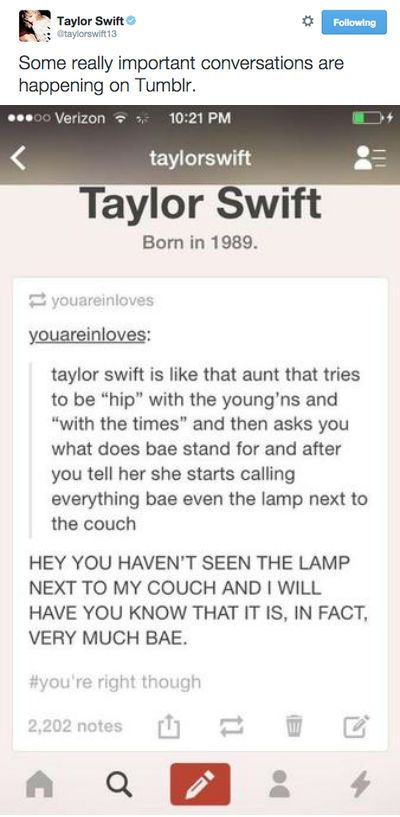 Oh Tay...