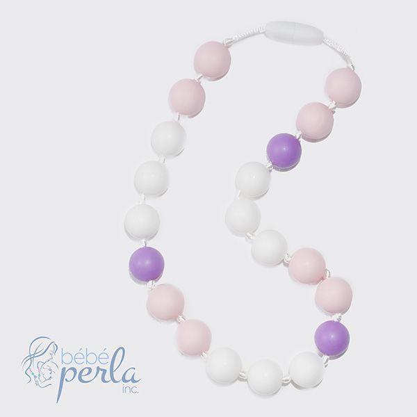 Little girl silicone necklace - Bella www.bebeperla.com