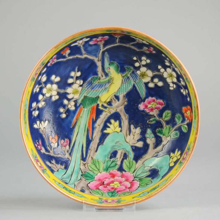 Large Antique Imari Serving Bowl Japanese Porcelain Charger 20th c Taisho Period
