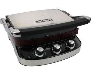 De'Longhi CGH 902, il barbecue elettrico da tavolo con due set di piastre lavabili in lavastoviglie.