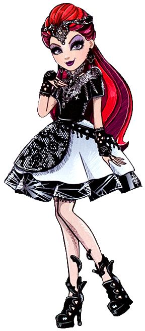 Ever After High Teenage Evil Queen Character Art (NOT Raven Queen)