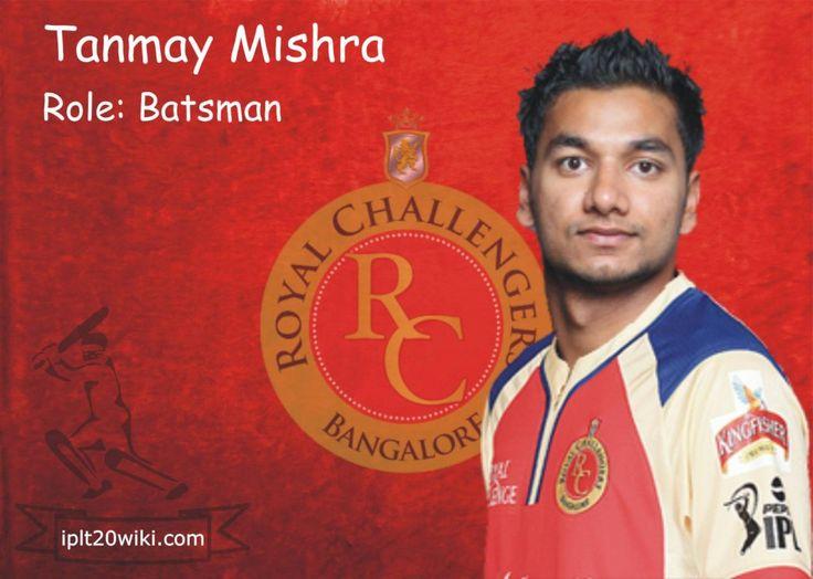 Tanmay Mishra - Royal Challengers Bangalore IPL 2014 Player