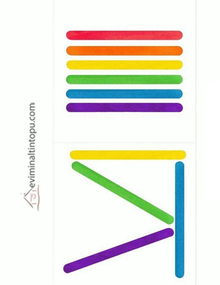 dil çubuğu renkli etkinlikler  |   Evimin Altın Topu