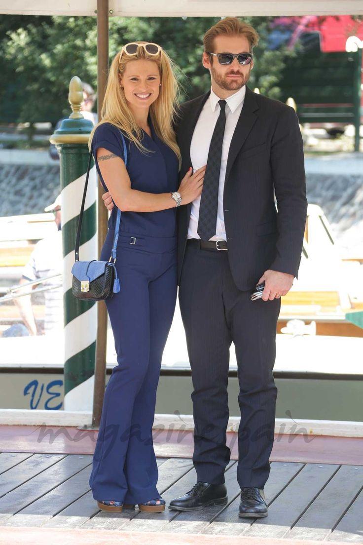 Michelle Hunziker con su marido Tomaso Trussardi