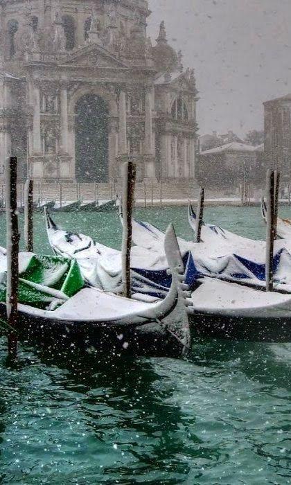 Venice under snow, Italy Hotels pas cher à Venise Vols pas cher pour Venise