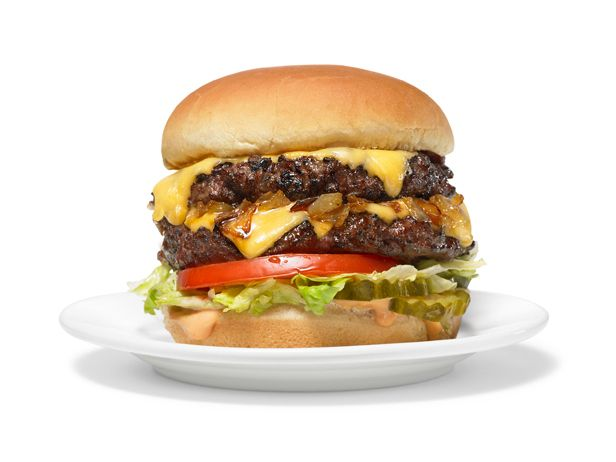 Almost-Famous <3Animal-Style Burgers Recipe<3 : Food Network Kitchen : Food Network - FoodNetwork.com