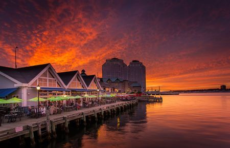 Sunset in Halifax, Nova Scotia Photo by Mathieu Dupuis -- National Geographic Your Shot