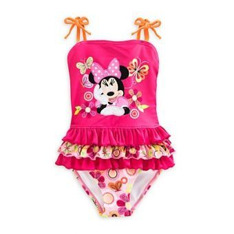 Traje de baño para Niña Disney Minnie Mouse Color rosa